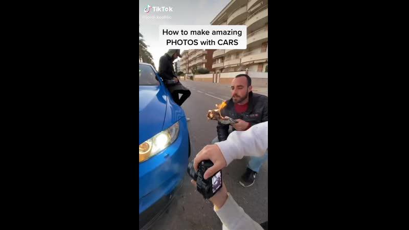 Jordi Koalitic как делать красивые фото с машиной