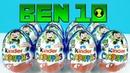 Киндер Сюрприз БЕН 10 2019! Unboxing Kinder Surprise eggs BEN 10! Новая коллекция!