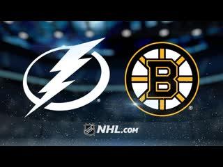 Tampa Bay Lightning vs Boston Bruins    2019   Game Highlights   NHL 2018/19   Обзор матча
