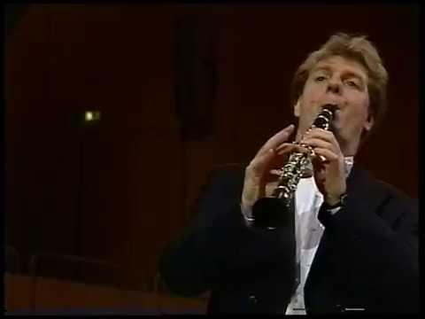 Weber Clarinet Concerto No 1 Steffens Maazel BRSO 1994 Movie Live