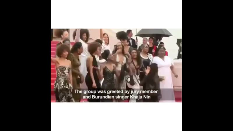 16 black French actresses protesting equality, racism inclusion at Cannes film festival 2018