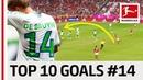 Top 10 Goals Jersey Number 14 Alonso de Bruyne More