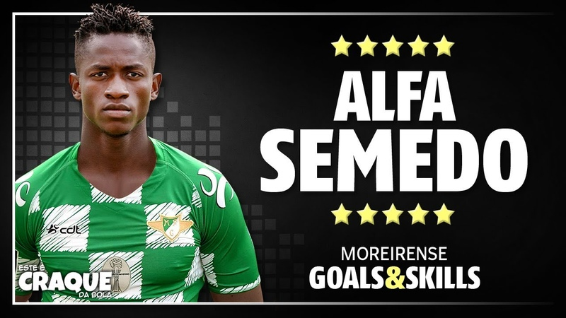 ALFA SEMEDO ● Moreirense ● Goals Skills