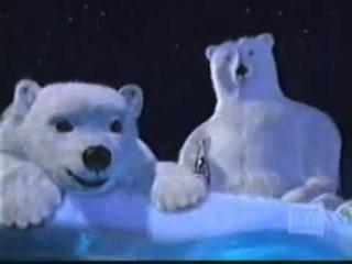 Comercial Coca-Cola - Urso Polar - anos 90