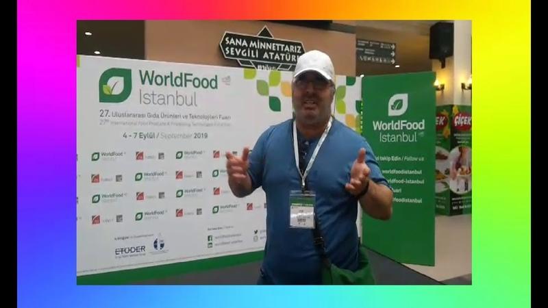TÜYAP WORLDFOOD ISTANBUL 2019 EYLÜL VLOG Tüyap Fuar ve Kongre Merkezi Kampanyatv Çelebihan