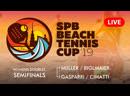 WOMENS DOUBLES SEMIFINALS MIILLER BIGLMAIER vs GASPARRI CIMATTI SPB BEACH TENNIS CUP 2019