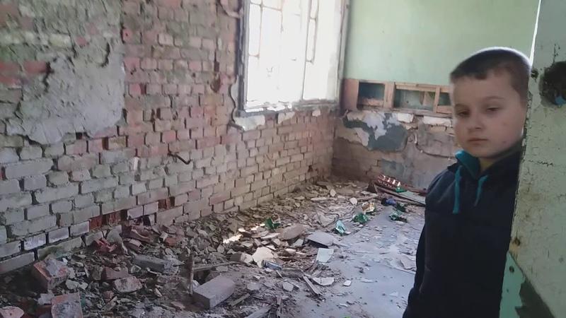 Заброшка Бывший вертолётный ангар Калининградская область