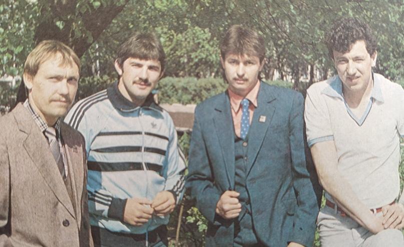 Мастера спорта СССР Игорь Кочетков, Александр Митрофанов, Александр Лукьянов, Олег Ерзиков
