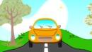 МАШИНКИ - Развивающая детская песенка мультик для малышей про разные машины и животных
