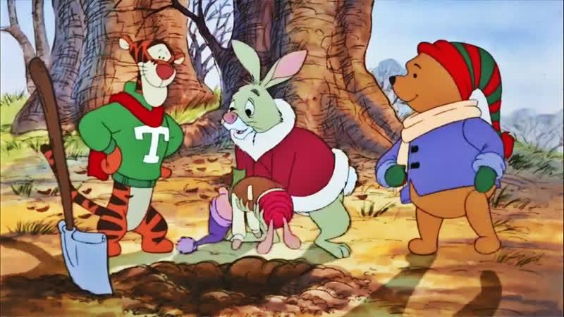 03 Упрямый пузырь День поросячьего сурка ♥ Приключения Винни Пуха 2 сезон Мультики для детей cartoons