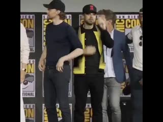 seb and tom SDCC