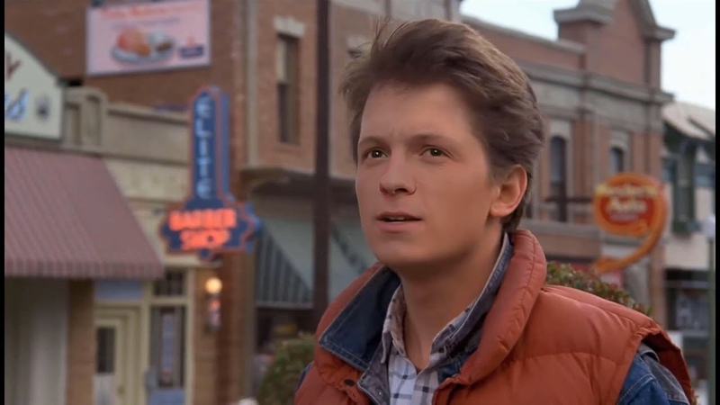[ deepfake ] : Tom Holland as Marty Mcfly - Back to the future