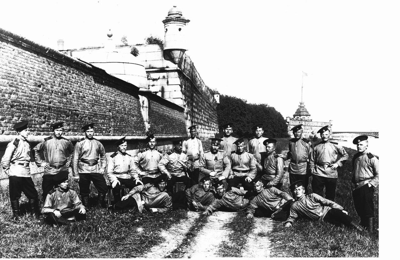 Гарнизонная команда Петропавловской крепости