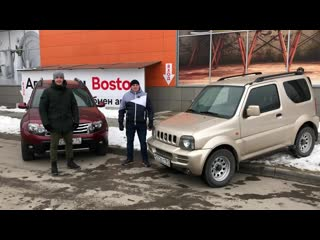 Сравнение suzuki jimny и renault duster от федора седова и сергея бабинова, автосалон boston_001.mp4