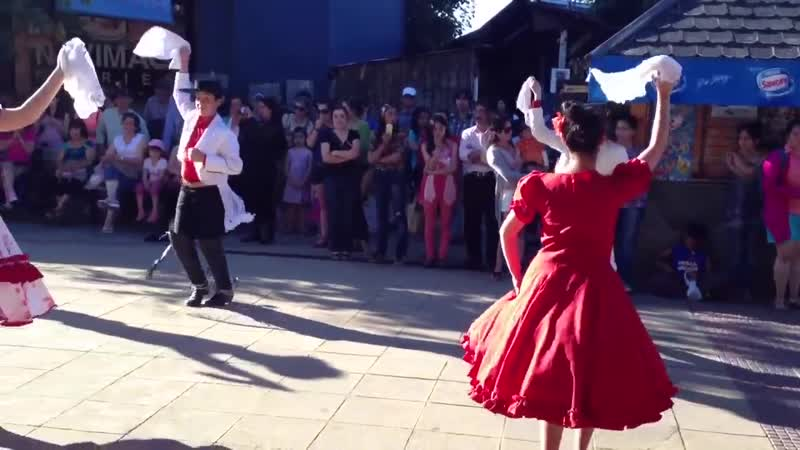Танцы народов в Чили