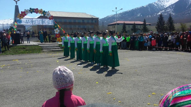 1 мая Катон Карагай Китайский танец Айголек