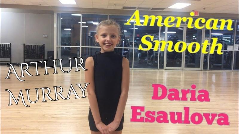 American Smooth I Arthur Murray sponsors Daria Esaulova