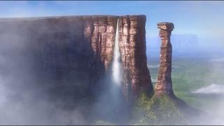 Мидгард Терра земля . Террариум .Водопады все искусственные