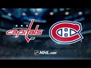 Washington Capitals vs Montreal Canadiens Jan 28 2020 Game Highlights NHL 2019 20 Обзор