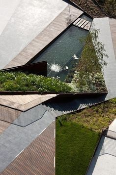 Landscape Architecture in balance with water