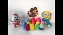 Распаковка Яйца Киндер Сюрприз Маша и Медведь Коллекция Розпаковка Кіндер Сюрприз Маша та Ведмідь