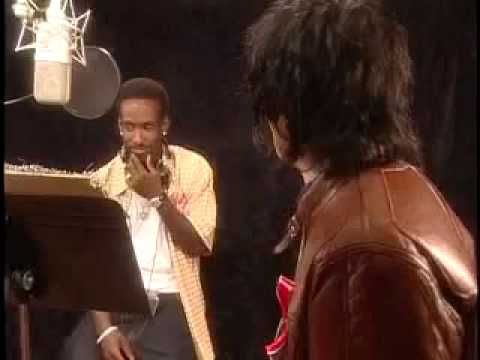 Rare Footage from the Recording of Michael Jackson's 9 11 Charity Song What More Can I Give