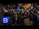 Heavy Unrest in Catalonia! Street War Breaks Out Between Violent Protestors and Riot Police!
