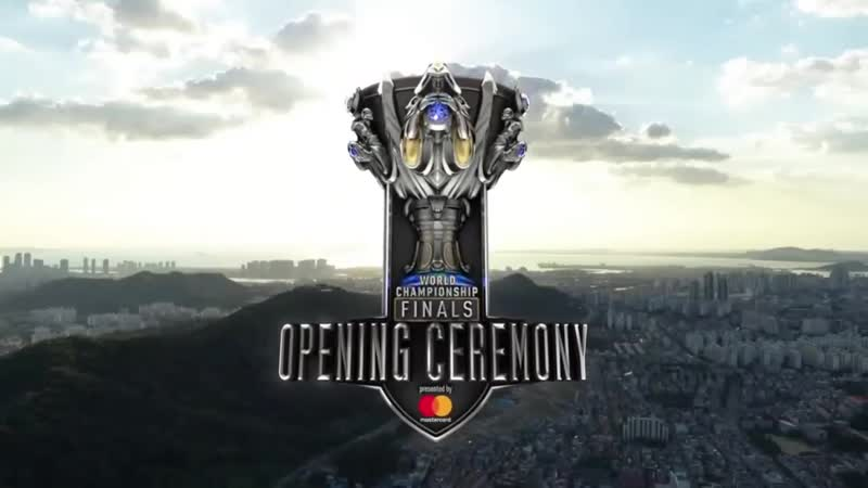 Opening ceremony LOL