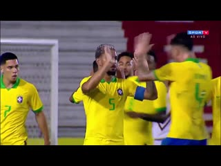 Brazil vs venezuela 4-1 | u23 international friendly match 10/10/2019