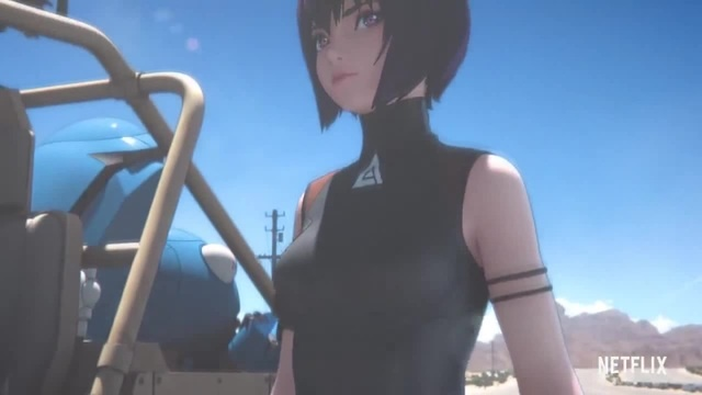 Ghost In The Shell: SAC_2045 | Teaser | Netflix · coub, коуб