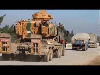 Turkish military attempts to block the Syrian Army's path to Saraqib | February 2nd 2020 | Syria