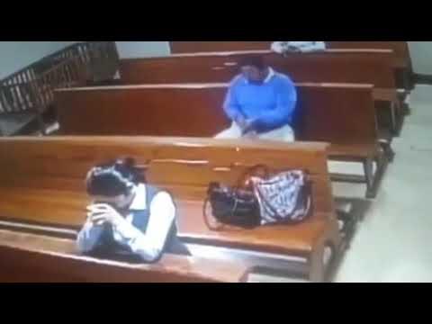 Кража телефона в церкви