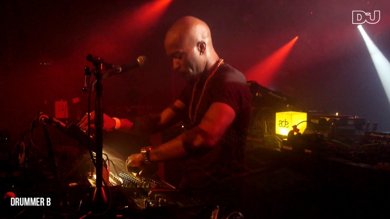 Drummer B Techno Live Set From Hi Tek Soul's ADE Party