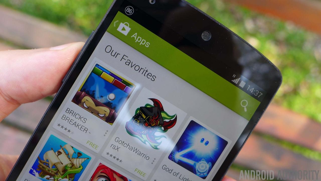 Android-магазин для игр
