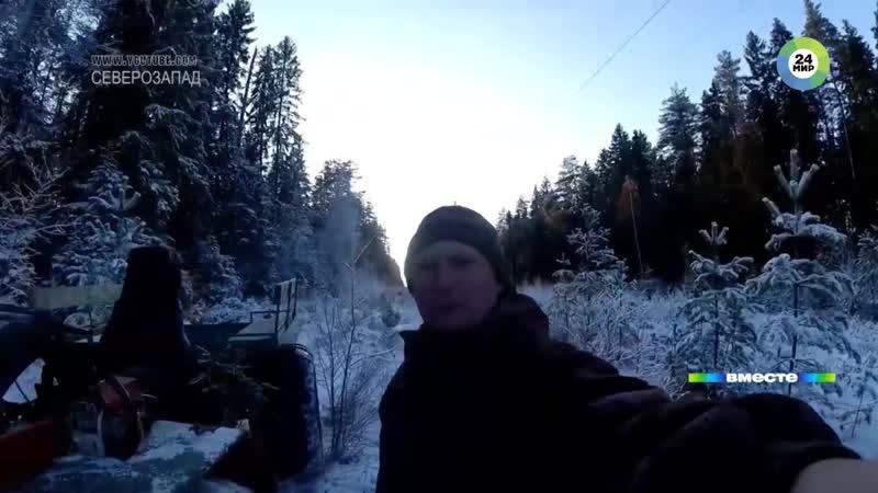 От урагана до «розовой» зимы Россию терзают «погодные качели»