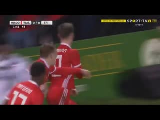 Ben woodburn winner vs trinidad and tobago