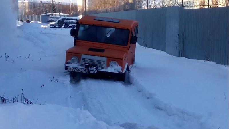 ЛУАЗ luaz 969 луиза луноход внедорожник топ снег грязь родная резина движок ваз 2103