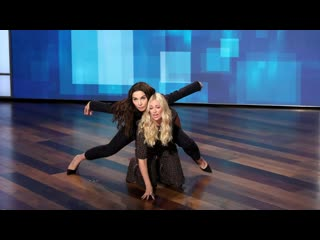 Beth behrs literally supports guest co-host whitney cummings