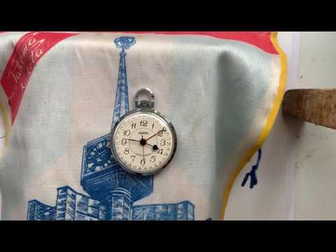 Видеообзор на часы Ракета со стрелочной индикацией календаря