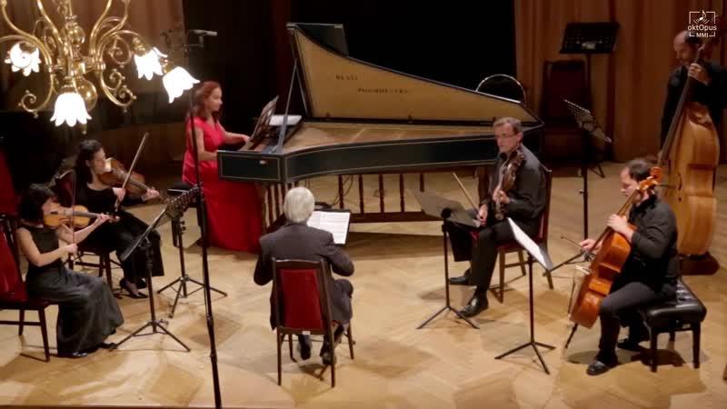 Karl Heinrich Graun Harpsichord Concerto in C minor GraunWV Bv XIII 50 Savaria Baroque Orchestra Pál Németh