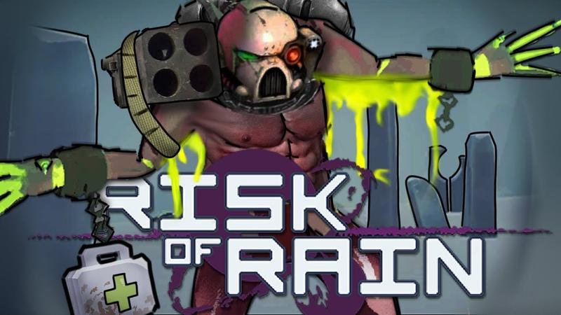 Взрывной апотекарий Акрид Risk of Rain 2