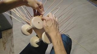 Плетение коляски BONIA часть 2