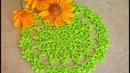 Ажурная салфетка крючком Летнее настроение Вязание для начинающих Урок 156