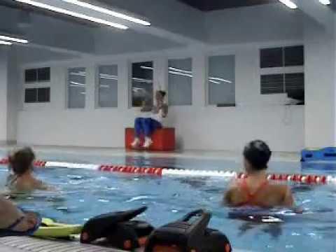 Аквааэробика, конвенция Красногорск -август 2018г, aqua fitness
