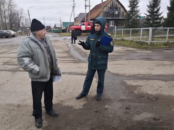 Совместный профилактический рейд прошел в поселке Тимашево  Деятельнос
