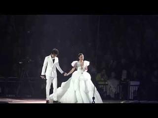 [HD Fancam]Dimash & Aida Garifullina《Ulysse》live at 's Jubilee concert in Moscow