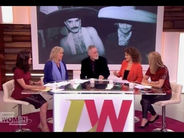 Queen's Roger Taylor - Loose Women 27 Nov 2014