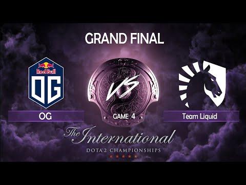 [GRAND FINAL] OG vs Team Liquid | Game 4 | The International 2019