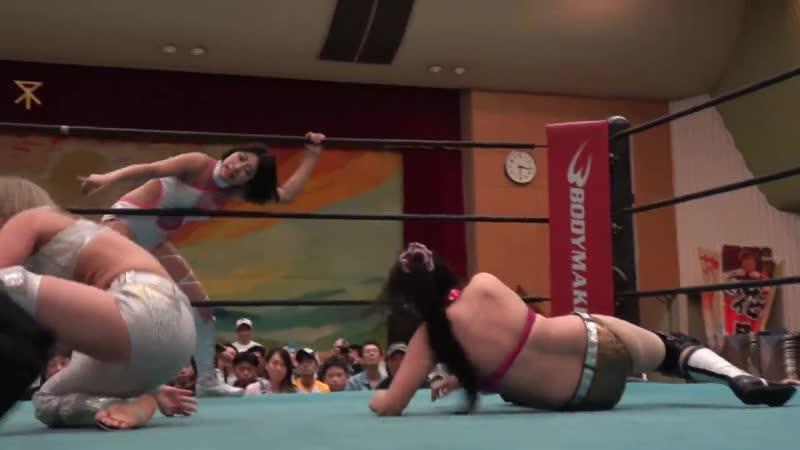 1. Aoi Kizuki Natsu Sumire vs. Hana Kimura Konami