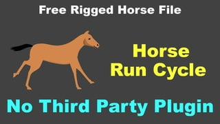 How to Animate Horse run cycle using After Effects Part-2 (After Effects Tutorial without plugin)